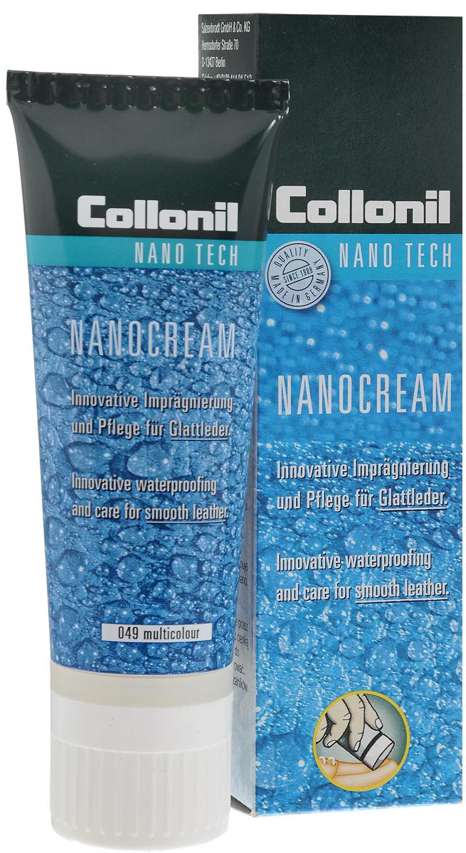 """Крем для обуви снего-водоотталкивающий Collonil """"Nano Cream """", цвет: 049 мульти, 50 мл"""