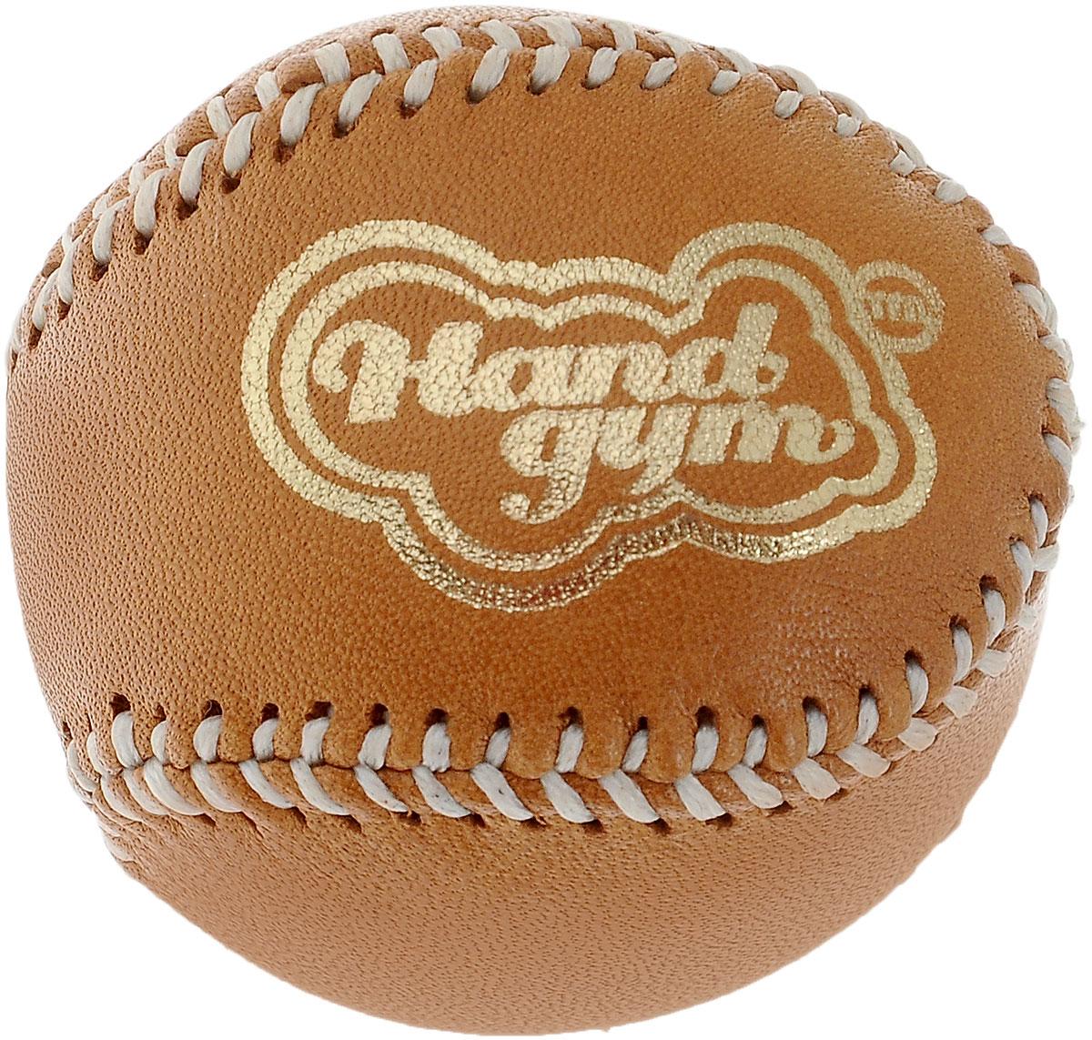 Эспандер кистевой HandGum  HandGym , цвет: светло-коричневый, диаметр 5 см - Мини-тренажеры
