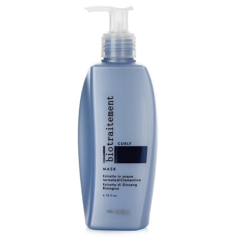 Brelil Маска для вьющихся волос Bio Traitement Curly Mask , 200 млAC-2233_серыйBrelil Bio Traitement Curly Mask Маска для вьющихся волос способствует формированию оптимальной структуры волоса, обеспечивает необходимый уровень увлажнения, в результате чего волосы становятся эластичными и послушными. Маска основана на природном экстракте клементина, который осуществляет разглаживание кутикулы волоса, устраняет неприятную пушистость волос, тонизирует кожу головы. Маска от компании Брелил отлично оберегает волосы от повышенной влажности, ярких солнечных лучей, пыли и морской соли. Благодаря маске Brelil Bio Traitement Curly Mask Ваши волосы будут сильными, гибкими и здоровыми при любых условиях.Маска Брелил Curly Mask обладает приятным освежающим ароматом, не содержит вредные вещества и идеально подходит для регулярного применения.