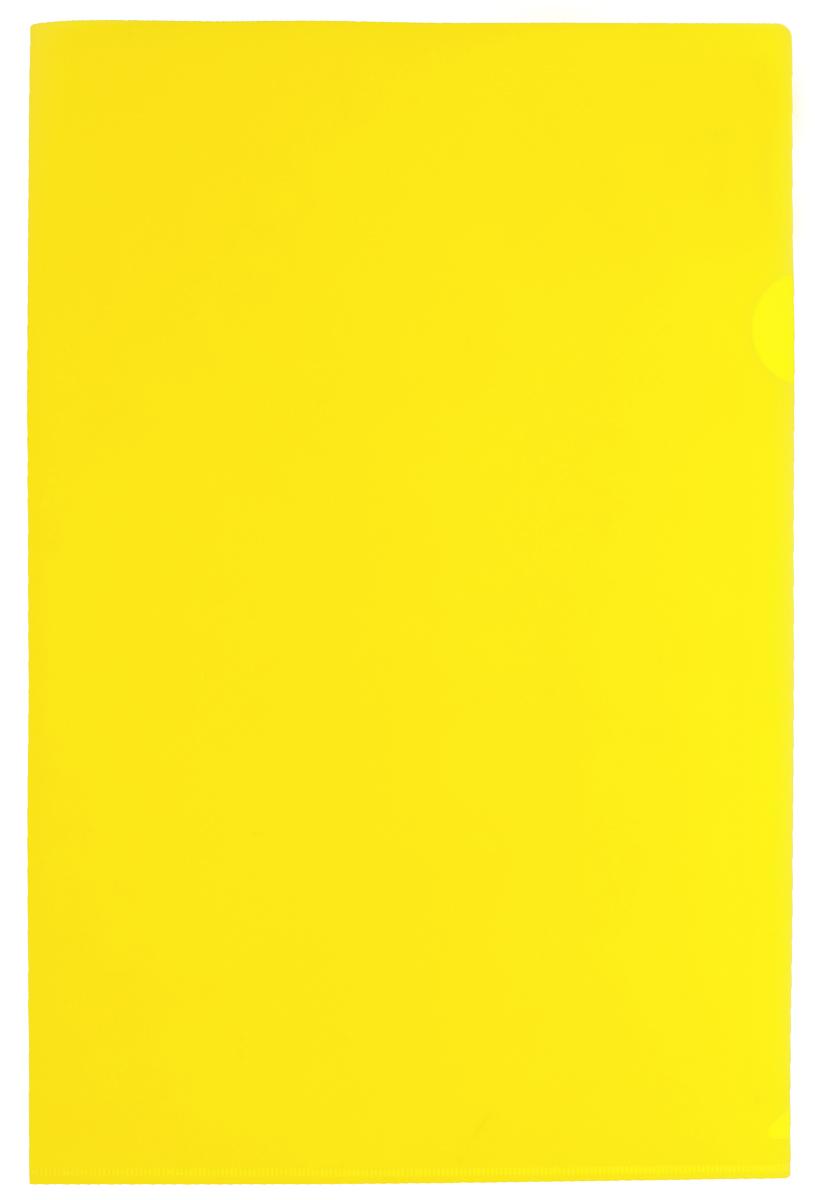 Бюрократ Папка-уголок цвет желтый816361Надежная папка-уголок Бюрократ предназначена для хранения различных документов и бумаг, не превышающих формат А4. Папка-уголок желтого цвета изготовлена из износоустойчивого полипропилена. Она всегда будет сохранять ваши документы и бумаги в опрятном и чистом виде.