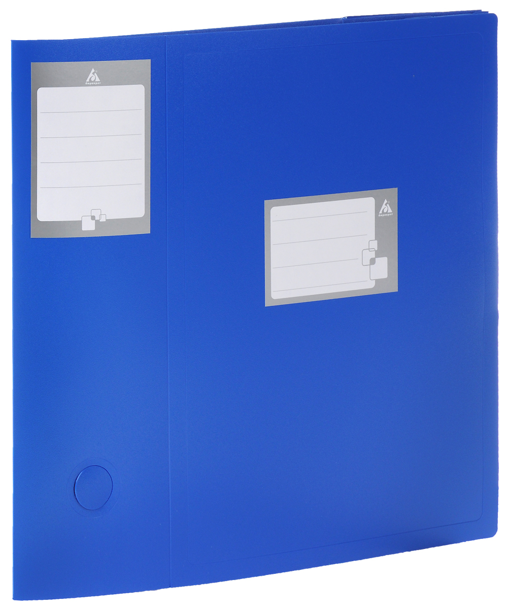 Бюрократ Архивный короб цвет синий 816213 короб архивный esselte standart 128910 картон с крышкой