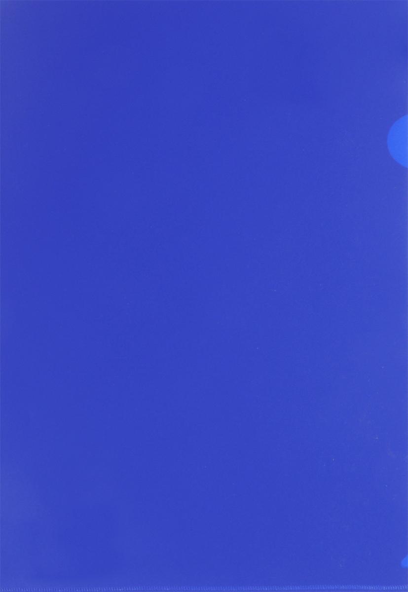 Бюрократ Папка-уголок цвет синий816358Надежная папка-уголок Бюрократ предназначена для хранения различных документов и бумаг, не превышающих формат А4. Папка-уголок синего цвета изготовлена из износоустойчивого полипропилена. Она всегда будет сохранять ваши документы и бумаги в опрятном и чистом виде.