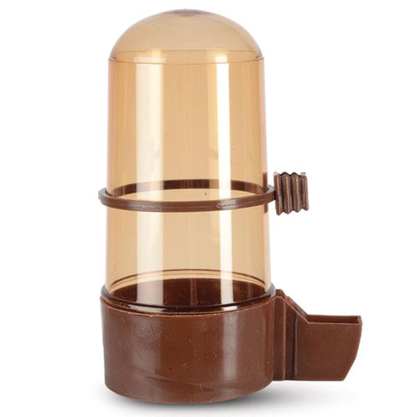 Поилка для птиц Triol, с носиком, цвет: коричневый, 320 млКл-51100Поилка для птиц Triol понравится вашему питомцу. Изделие выполнено из высококачественного пластика.Воду невозможно пролить, благодаря надежной конструкции.Объем: 320 мл