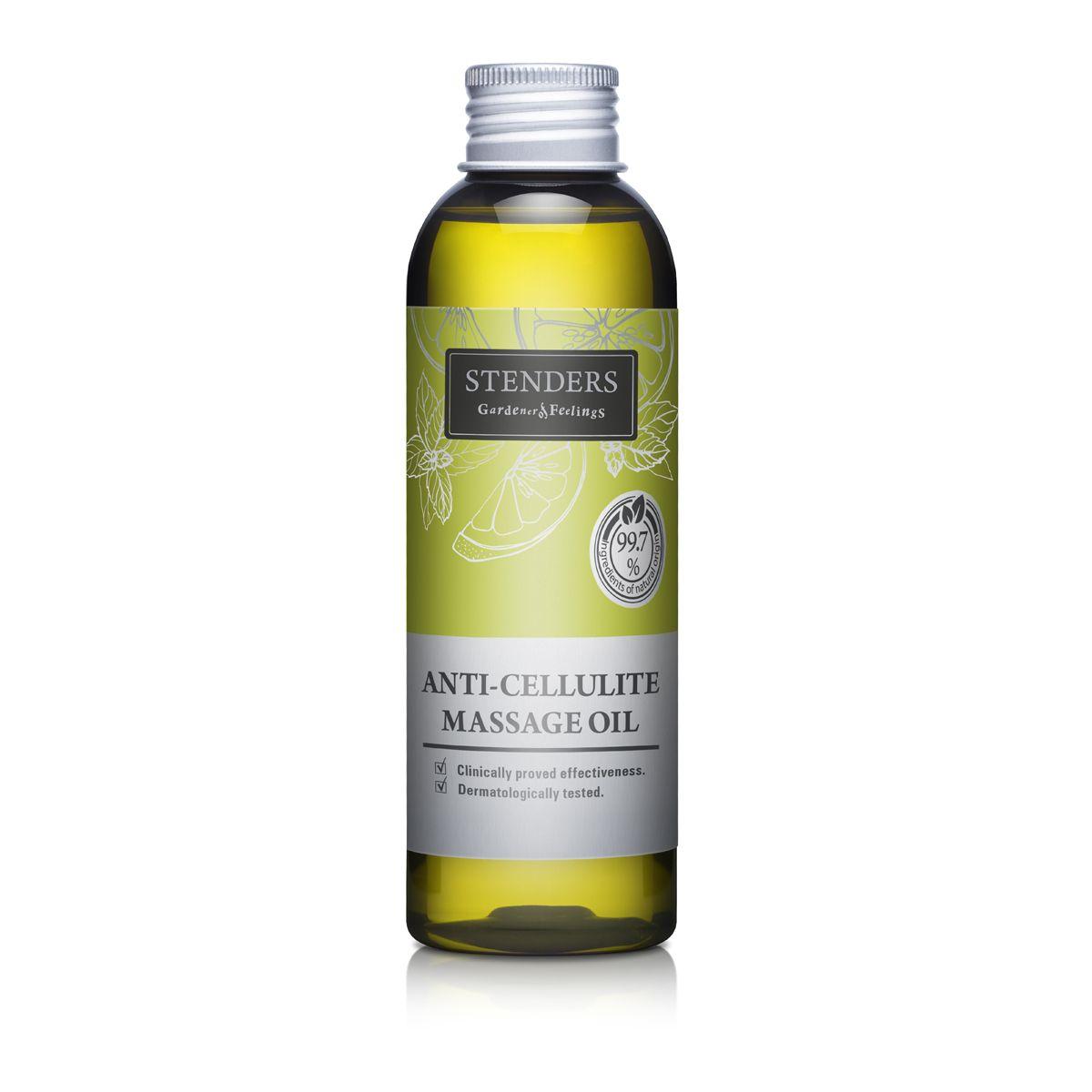 Stenders Масло для тела Антицеллюлитное 150 млFS-00897Регулярное использование этого масла при массаже позволяет достичь заметных результатов, предотвращая и заметно уменьшая эффект «апельсиновой корки».