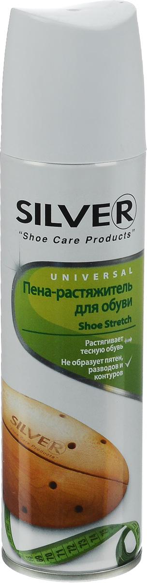Пена-растяжитель для обуви Silver, 150 млKS1008-02/48Пена-растяжитель для обуви Silver быстро и эффективно решает проблему тесной или неудобной обуви. Может применяться для всех типов обуви из кожи, замши и нубука. Не образует пятен, разводов и контуров.Товар сертифицирован.