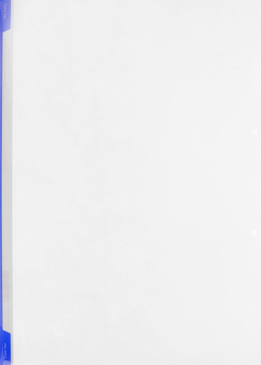 Kokuyo Папка-уголок цвет прозачный синийAC-1121RDПапка-уголок Kokuyo подойдет для хранения документов и тетрадей как для офисного работника, так и для студента или школьника.Папка формата А4 изготовлена из качественного пластика, имеет длинный корешок для указания необходимой информации, а также два отверстия для подшивания в папки-скоросшиватели или папки на кольцах.