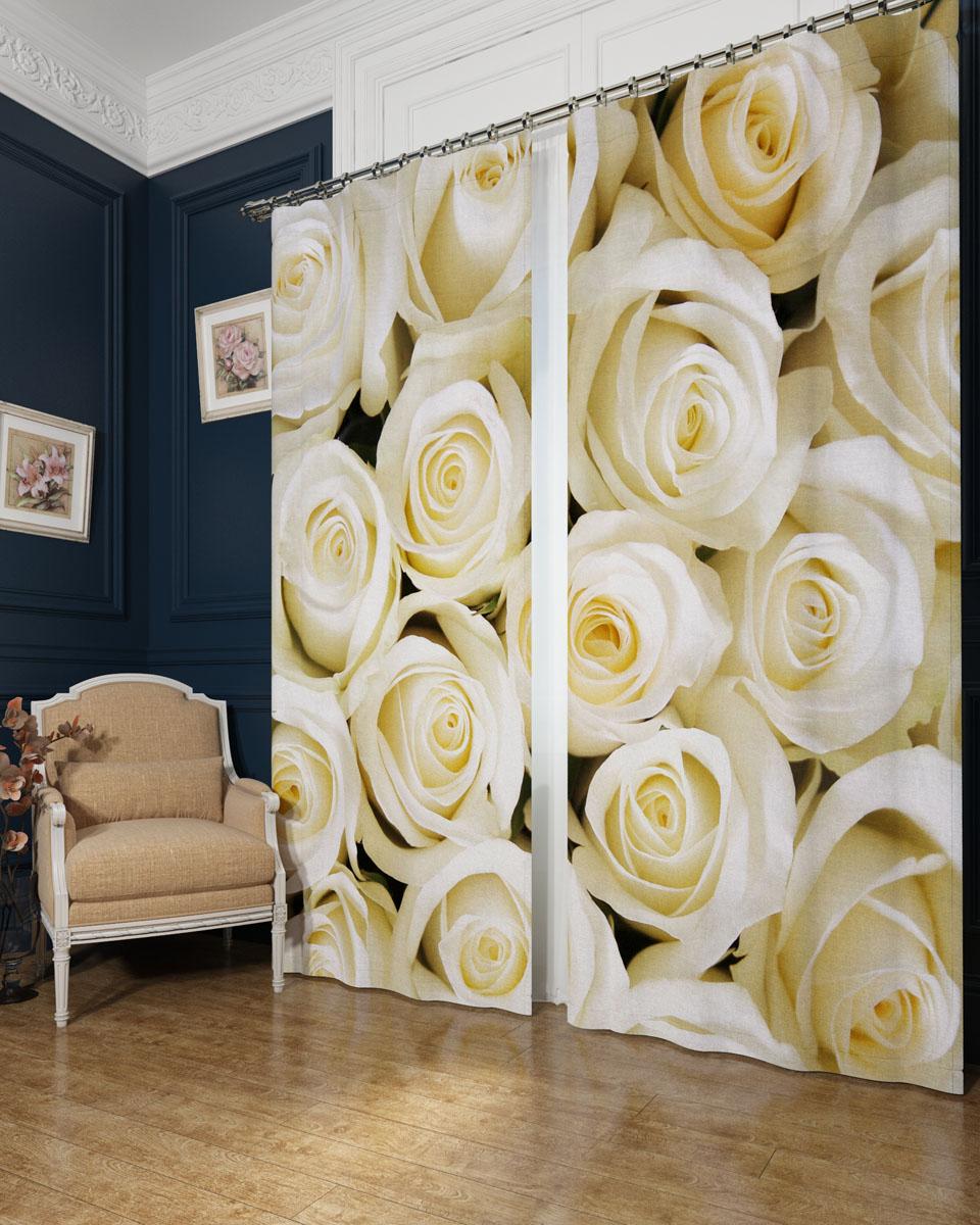 Комплект фотоштор Сирень Душистые розы, на ленте, высота 260 смSVC-300Фотошторы Сирень Душистые розы, выполненные из блэкаута, отлично дополнят украшение любого интерьера. Блэкаут - это трехслойная светонепроницаемая ткань - 100% полиэстер, по структуре напоминает плотный хлопок, очень мягкий,с небольшим сероватым оттенком из-за черной нити, входящей в состав ткани. Блэкаут не требует особого ухода, хорошо драпируется. Пропускает солнечные лучи не более 5%. Крепление на карниз при помощи шторной ленты на крючки. В комплекте 2 шторы. Ширина одного полотна: 145 см.Высота штор: 260 см.Рекомендации по уходу: стирка при 30 градусах, гладить при температуре до 110 градусов.Изображение на мониторе может немного отличаться от реального.