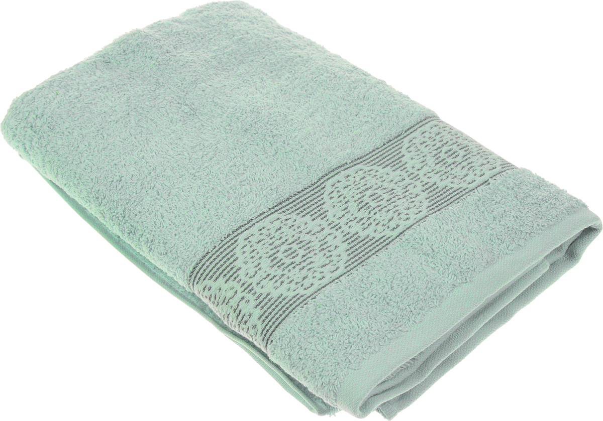Полотенце Arya Mia, цвет: зеленый, 70 х 140 см66171Полотенце Arya Mia выполнено из 100% хлопка. Изделие отлично впитывает влагу, быстро сохнет, сохраняет яркость цвета и не теряет форму даже после многократных стирок. Такое полотенце очень практично и неприхотливо в уходе. Оно создаст прекрасное настроение и украсит интерьер в ванной комнате.