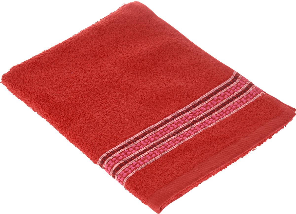 Полотенце Arya Pinar, цвет: красный, 50 х 90 см391602Полотенце Arya Pinar выполнено из 100% хлопка. Изделие отлично впитывает влагу, быстро сохнет, сохраняет яркость цвета и не теряет форму даже после многократных стирок. Такое полотенце очень практично и неприхотливо в уходе. Оно создаст прекрасное настроение и украсит интерьер в ванной комнате.