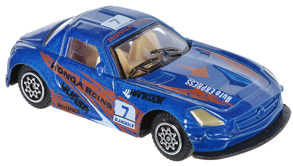 Shantou Машинка Pocket Car цвет синий