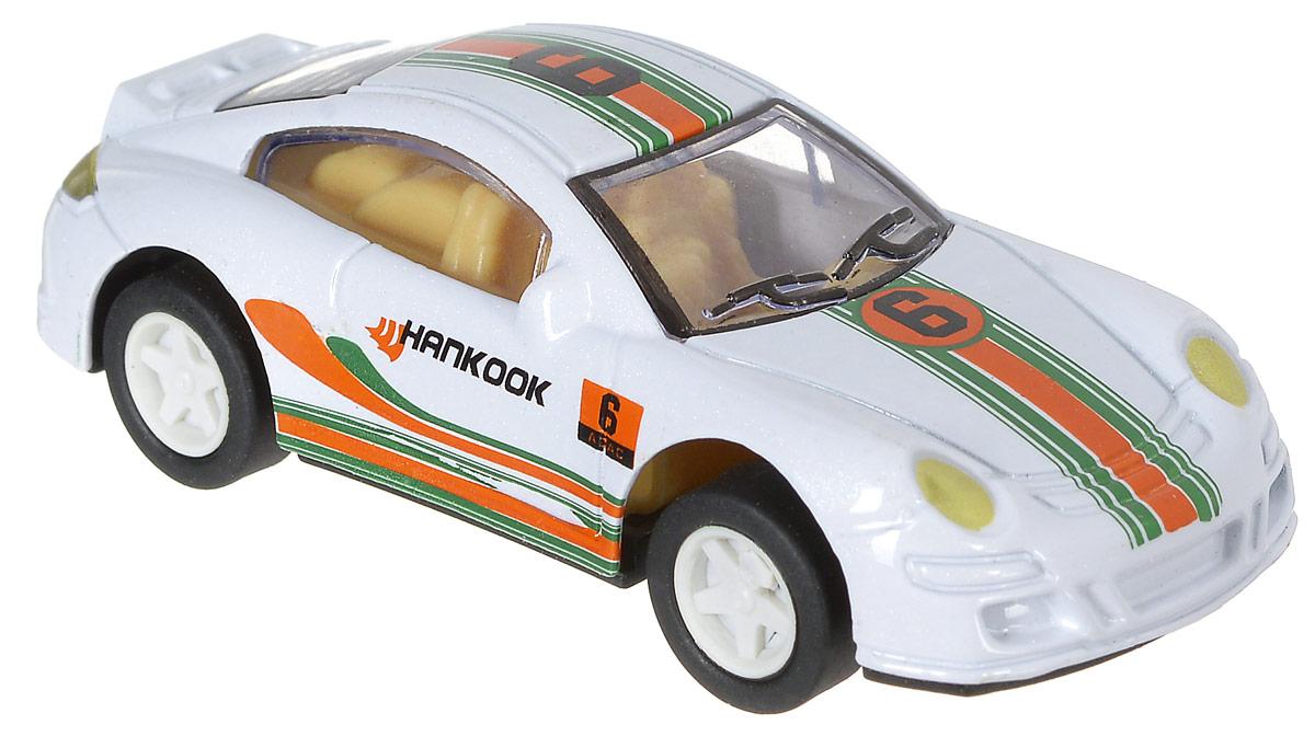 Shantou Машинка инерционная Крутые тачки цвет белый
