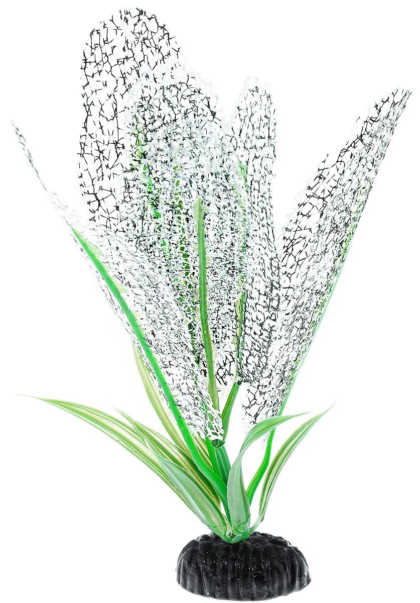 Растение для аквариума Barbus Апоногетон Мадагаскарский, шелковое, цвет: белый, высота 20 см0120710Растение для аквариума Barbus Апоногетон Мадагаскарский, выполненное из высококачественного нетоксичного пластика и шелка, станет прекрасным украшением вашего аквариума. Шелковое растение идеально подходит для дизайна всех видов аквариумов. В воде происходит абсолютная имитация живых растений. Изделие не требует дополнительного ухода и просто в применении.Растение абсолютно безопасно, нейтрально к водному балансу, устойчиво к истиранию краски, подходит как для пресноводного, так и для морского аквариума. Растение для аквариума Barbus Апоногетон Мадагаскарский поможет вам смоделировать потрясающий пейзаж на дне вашего аквариума или террариума.