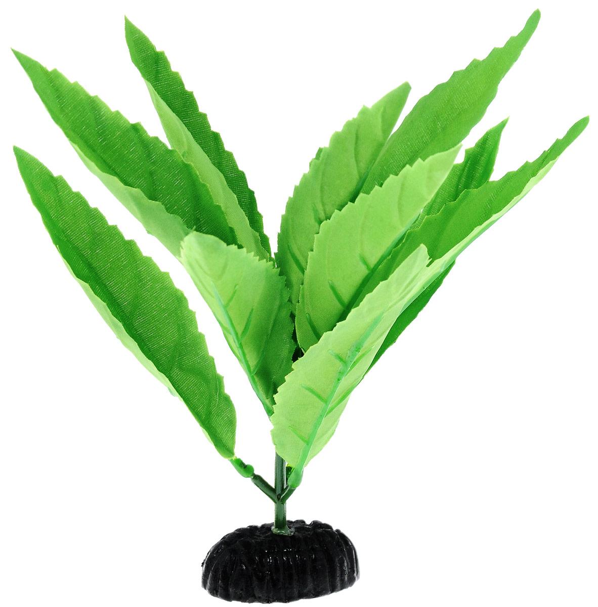 Растение для аквариума Barbus Гигрофила, шелковое, высота 20 см0120710Растение для аквариума Barbus Гигрофила, выполненное из высококачественного нетоксичного пластика и шелка, станет прекрасным украшением вашего аквариума. Шелковое растение идеально подходит для дизайна всех видов аквариумов. В воде происходит абсолютная имитация живых растений. Изделие не требует дополнительного ухода и просто в применении.Растение абсолютно безопасно, нейтрально к водному балансу, устойчиво к истиранию краски, подходит как для пресноводного, так и для морского аквариума. Растение для аквариума Barbus Гигрофила поможет вам смоделировать потрясающий пейзаж на дне вашего аквариума или террариума.