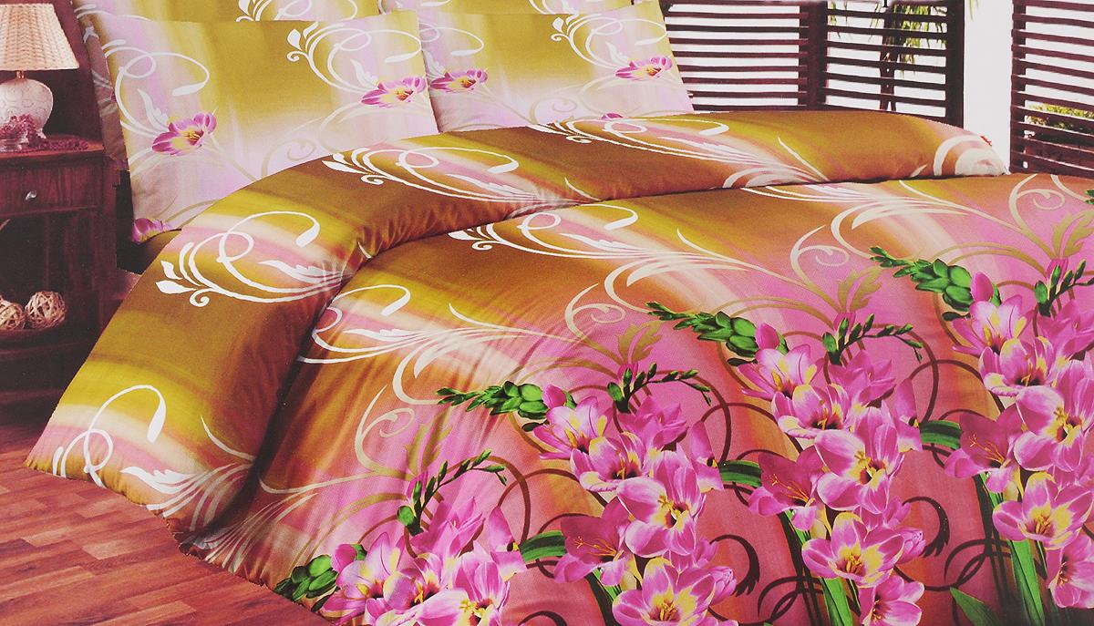 Комплект белья Liya Home Collection Аквамарин, семейный, наволочки 70x704630003364517Комплект белья Liya Home Collection Аквамарин состоит из двух пододеяльников, простыни и двух наволочек. Изделия выполнены из хлопка (70%) и полиэстера (30%).Хлопок является классическим примером гигроскопичности, гигиеничности, натуральности и простоты. Сочетание его с полиэстером лишает ткань присущих хлопку недостатков. Изделия из хлопка с полиэстером не выгорают, не растягиваются, дольше используются. Постельное белье из хлопка с полиэстером имеет двукратную продолжительность эксплуатации, по сравнению с чистым хлопком, оно не мнется и сохнет очень быстро.