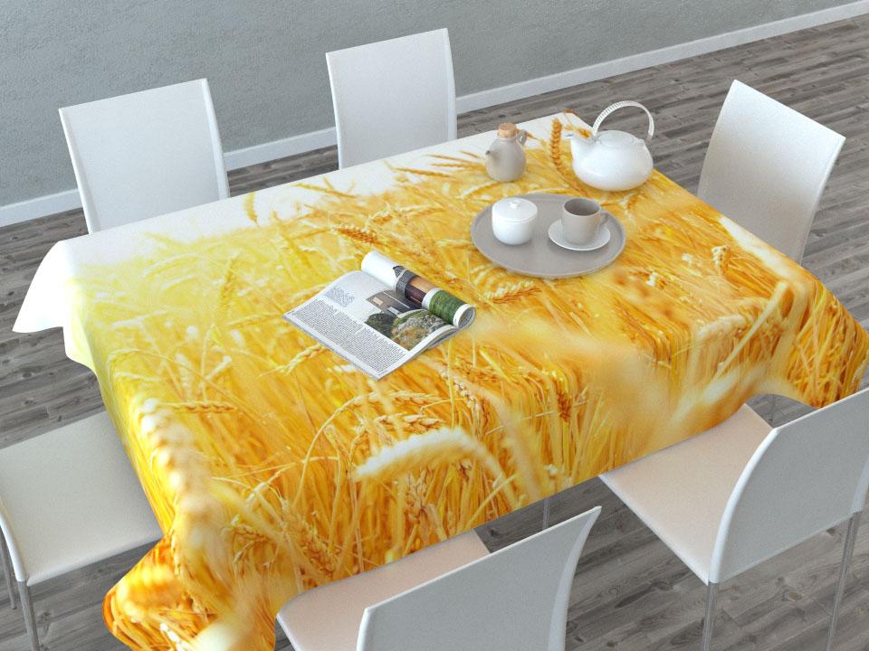 Скатерть Сирень Пшеница, прямоугольная, 145 x 120 смVT-1520(SR)Прямоугольная скатерть Сирень Пшеница с ярким и объемным рисунком, выполненная из габардина, преобразит вашу кухню, визуально расширит пространство, создаст атмосферу радости и комфорта. Рекомендации по уходу: стирка при 30 градусах, гладить при температуре до 110 градусов.Размер скатерти: 145 х 120 см. Изображение может немного отличаться от реального.