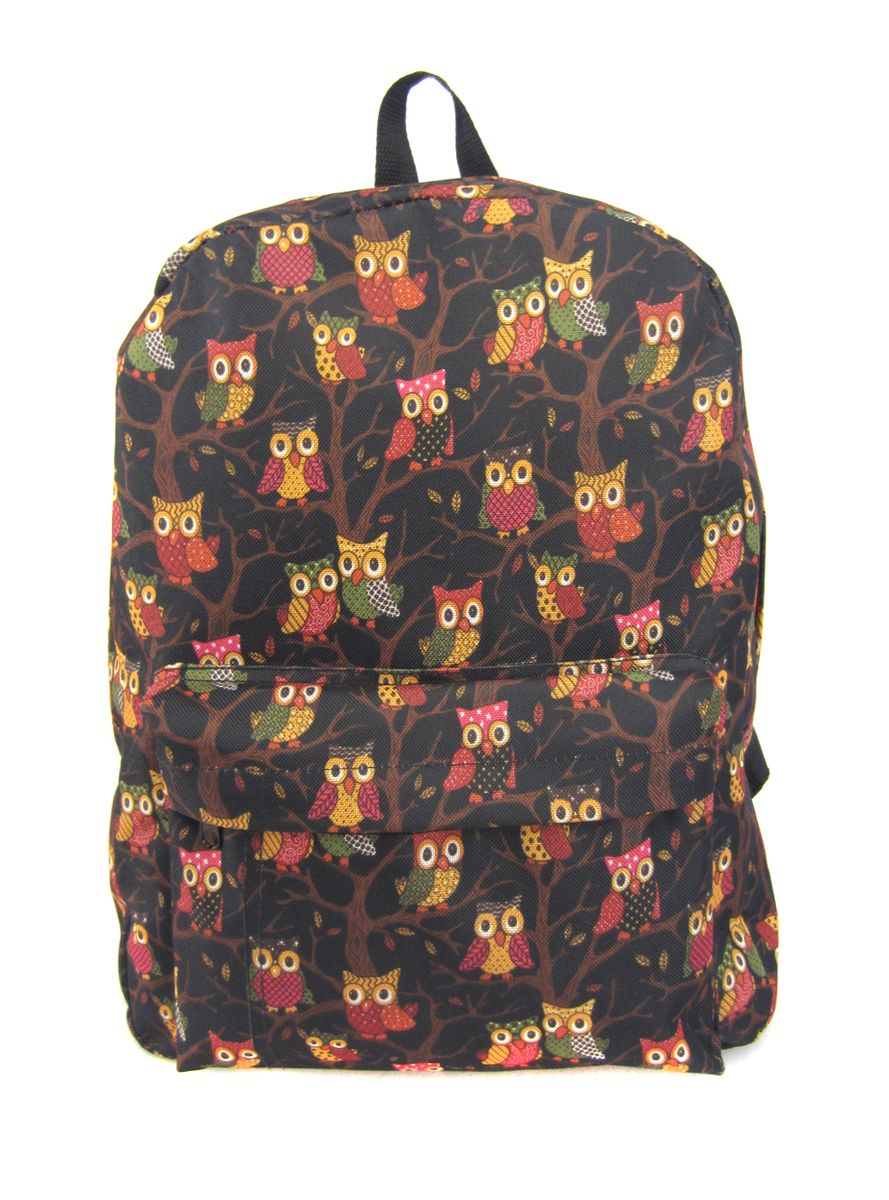 Рюкзак молодежный Creative Филины, цвет: черный, 16 лRivaCase 7560 blueЛаконичная и очень удобная модель, в которую поместится все: школьные принадлежности и завтрак, спортивная форма, любимые игрушки, ноутбук. Это рюкзак универсален именно благодаря удобному и простому крою.