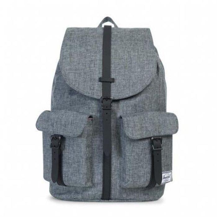 Рюкзак городской Herschel  Dawson Raven Crosshatch Black , 20,5 л - Рюкзаки