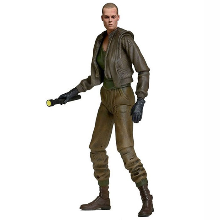 Aliens Series 8. Фигурка Ripley Bald Prisoner Neca Inc.
