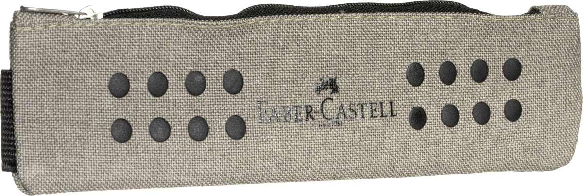 Faber-Castell Пенал Grip цвет песочный573175Стильный и лаконичный пенал Faber-Castell выполнен из прочного материала - 100% полиэстера.Пенал содержит одно отделение для канцелярских принадлежностей, которое закрывается на застежку-молнию. Удобный пенал станет практичным помощником для вашего ребенка и займет достойное место в его школьных принадлежностях.