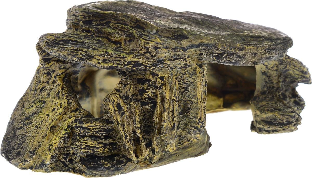 Декорация для аквариума Barbus Грот для черепах, 16 х 9,5 х 6,5 см0120710Декорация для аквариума Barbus Грот для черепах, выполненная из высококачественного нетоксичного полирезина, станет прекрасным украшением вашего аквариума. Изделие отличается реалистичным исполнением с множеством мелких деталей и отверстий. Ведь многие обитатели аквариума используют декорации как укрытия, в которых они живут и размножаются. Декорация абсолютно безопасна, нейтральна к водному балансу, устойчива к истиранию краски, подходит как для пресноводного, так и для морского аквариума. Благодаря декорациям Barbus вы сможете смоделировать потрясающий пейзаж на дне вашего аквариума или террариума.
