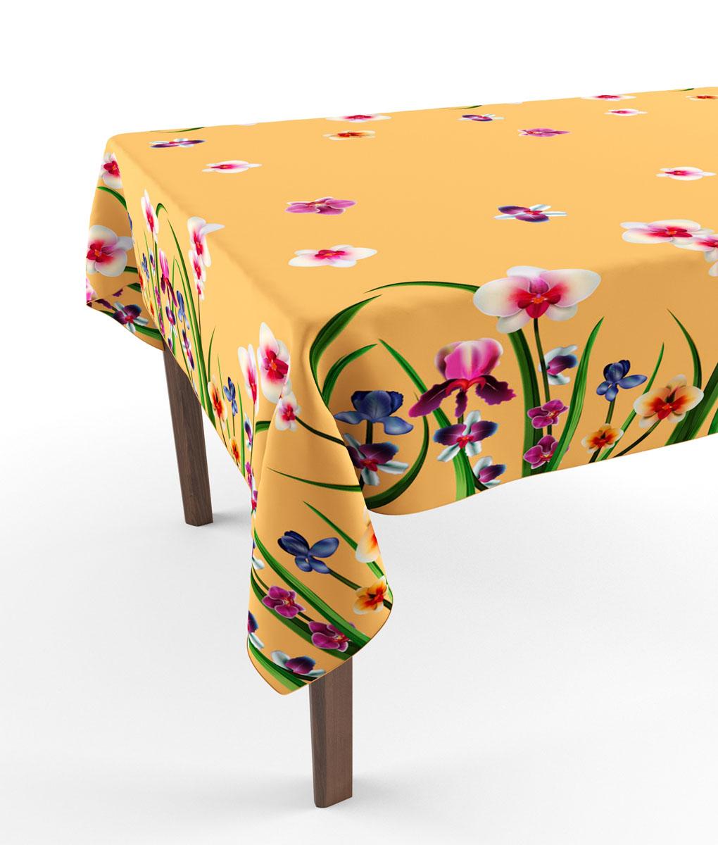 Скатерть Сирень Жемчужные цветы 3, прямоугольная, 145 x 120 смVT-1520(SR)Прямоугольная скатерть Сирень Жемчужные цветы с ярким и объемным рисунком, выполненная из габардина, преобразит вашу кухню, визуально расширит пространство, создаст атмосферу радости и комфорта. Рекомендации по уходу: стирка при 30 градусах, гладить при температуре до 110 градусов.Размер скатерти: 145 х 120 см. Изображение может немного отличаться от реального.