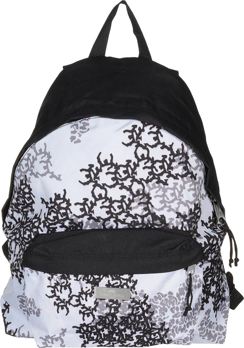 Faber-Castell Рюкзак Симург72523WDСтильный и качественный рюкзак Faber-Castell Симург выполнен из прочного полиэстера и прекрасно подойдет для использования подросткам.Это легкий и компактный городской рюкзак, который обязательно подчеркнет вашу индивидуальность. Рюкзак содержит одно большое вместительное отделение, закрывающееся на застежку-молнию с двумя бегунками. На лицевой стороне рюкзака расположен накладной карман на молнии. Рюкзак оснащен широкими лямками и текстильной ручкой для переноски в руке.Такую модель рюкзака можно использовать для повседневных прогулок, отдыха и спорта.
