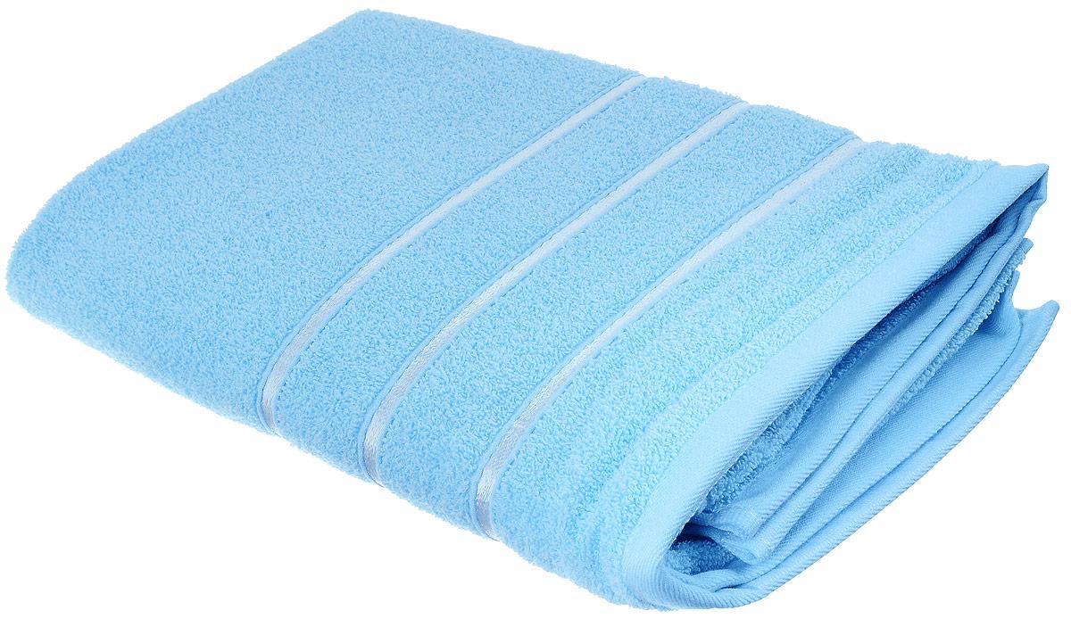 Полотенце хлопковое Home Textile, цвет: небесный, 70 х 140 см68/5/1Полотенце Home Textile выполнено из качественной натуральной махры (100% хлопок). Мягкое и уютное полотенце прекрасно впитывает влагу и легко стирается. Кроме того, хлопковые полотенца отличаются высокой износоустойчивостью и долгим сроком службы. Такое полотенце подарит массу положительных эмоций и приятных ощущений.