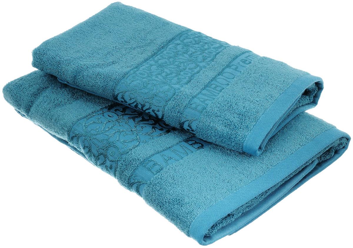 Набор бамбуковых полотенец Home Textile Bamboo Premium, цвет: бирюзовый, 2 шт531-105Набор Home Textile Bamboo Premium состоит из двух полотенец разного размера, выполненных из бамбука с добавлением хлопка (70% бамбук, 30% хлопок). Полотенца имеют гладкую, приятную на ощупь текстуру, края декорированы бордюрами с изысканным узором. Мягкие и уютные, они прекрасно впитывают влагу, легко стираются и быстро сохнут. Кроме того, бамбуковые полотенца отличаются высокой износоустойчивостью и долгим сроком службы, а также обладают антибактериальными свойствами. Такой набор полотенец подарит массу положительных эмоций и приятных ощущений.