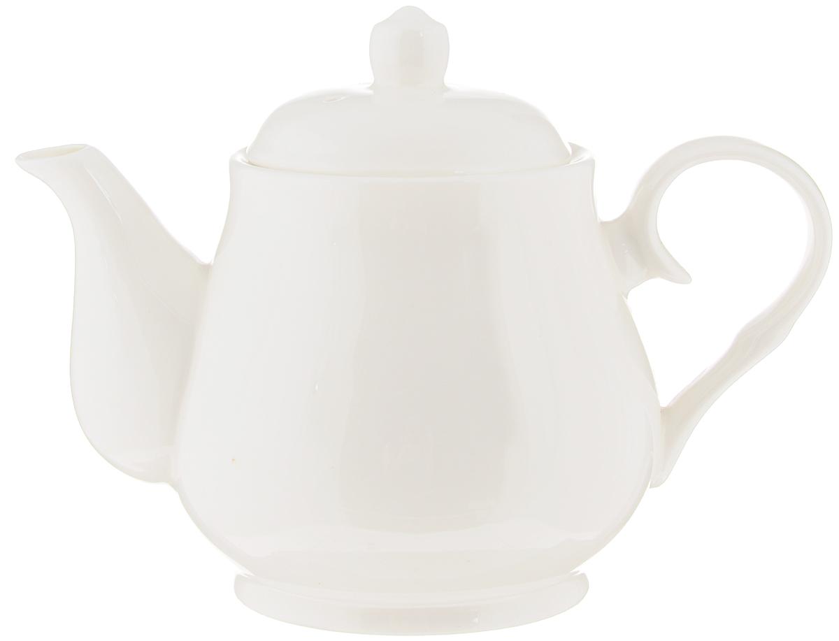 Чайник заварочный Wilmax, 550 мл. WL-994021 / 1C54 009312Заварочный чайник Wilmax изготовлен из высококачественного фарфора. Глазурованное покрытие обеспечивает легкую очистку. Изделие прекрасно подходит для заваривания вкусного и ароматного чая, а также травяных настоев. Отверстия в основании носика препятствует попаданию чаинок в чашку. Оригинальный дизайн сделает чайник настоящим украшением стола. Он удобен в использовании и понравится каждому.Можно мыть в посудомоечной машине и использовать в микроволновой печи. Диаметр чайника (по верхнему краю): 7,5 см. Высота чайника (без учета крышки): 9 см.Высота (с учетом крышки): 13 см.