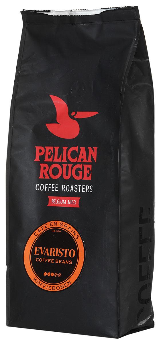 Pelican Rouge Evaristo кофе в зернах, 1 кг0120710Смесь Pelican Rouge Evaristoпроизводится из сортов Арабики и Робусты наивысшего качества. Приятный, сладкий аромат карамели переплетается со вкусом сухофруктов и послевкусием какао. Идеальна для приготовления эспрессо, капучино и кофейных напитков с молоком на профессиональном оборудовании.