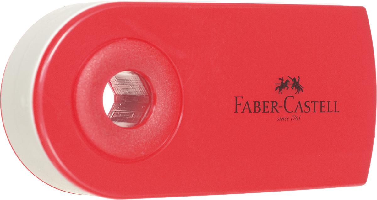 Faber-Castell Ластик-мини Sleeve цвет красный72523WDЛастик-мини Faber-Castell Sleeve станет незаменимым аксессуаром на рабочем столе не только школьника или студента, но и офисного работника. Аккуратный, не оставляет грязных разводов. Кроме того, высококачественный ластик не повреждает бумагу даже при многократном стирании. Специальный подвижный колпачок защищает ластик от загрязнения.