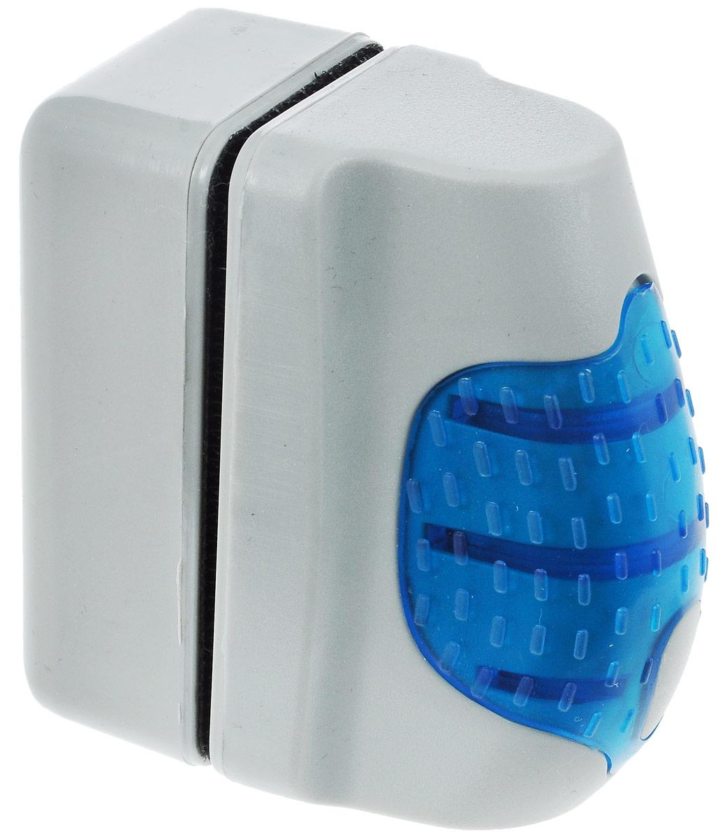 Щетка аквариумная Barbus №1, магнитная, всплывающая0120710Магнитный скребок Barbus №1 предназначен для быстрой и тщательной очистки стекол аквариума от налета и обрастаний. Ключевые преимущества: - Скребок позволяет осуществлять чистку в труднодоступных местах, не прибегая к дополнительному погружению. - За счет эффекта поплавка можно избежать потери скребка на дне аквариума, а за счет мощного магнита можно вернуть его в нужное положение. - Инновационный материал подушечек позволяет эффективно удалять водоросли со стекла, не нанося при этом царапин на поверхность. Размер рабочей поверхности скребка: 7 х 3,5 см.Общий размер: 6,5 х 3,5 х 7 см.