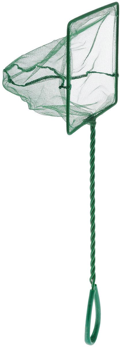 Сачок аквариумный Barbus, 15 х 12,5 смT4-50 WhiteСачок Barbus предназначен для легкого извлечения рыб или остатков корма из аквариума. Изделие выполнено из металла со специальным пластиковым покрытием. Такой сачок безопасен для рыб, устойчив к коррозии и долговечен. Сетка выполнена из прочного нейлона. На ручке имеется петля для подвешивания. Размер сачка: 15 х 12,5 см. Длина ручки: 30 см.