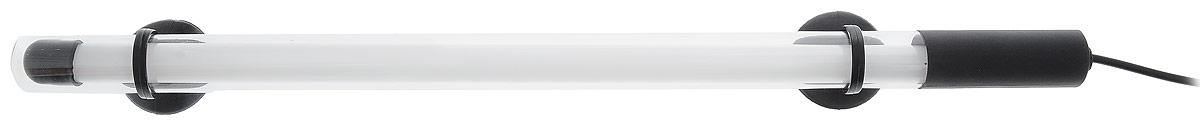 Лампа аквариумная Barbus, энергосберегающая, цвет: белый, длина 35 см, 6W0120710Энергосберегающая лампа Barbus идеально подходит для создания современного аквариумного дизайна. Погружается до глубины 70 см. Свечение лампы специально разработан для интенсивности окраски рыб и стимуляции роста растений. Лампа водонепроницаема. Крепится с помощью двух присосок. Работает от электросети. Цвет лампы: белый. Длина лампы: 35 см.