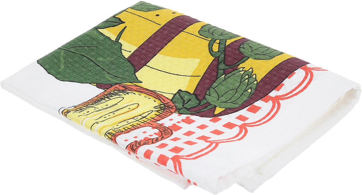 Полотенце Bonita Натюрморт. Лоза, цвет: белый, красный, зеленый, 44 х 59 см115510Кухонное полотенце Bonita Натюрморт. Лоза изготовлено из 100% хлопка, поэтому является экологически чистыми. Качество материала гарантирует безопасность не только взрослых, но и самых маленьких членов семьи. Изделие украшено оригинальным рисунком, оно впишется в интерьер любой кухни. Такое полотенце станет прекрасным помощником у вас на кухне.