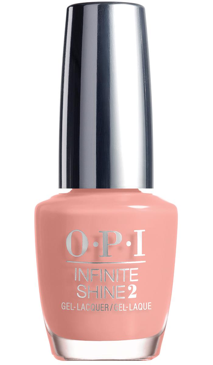 """OPI Infinite Shine Лак для ногтей Don't Ever Stop!, 15 млWS 7064""""Линия Infinite Shine была разработана в ответ на желание покупателей получить лаковые покрытия, по свойствам не уступающие гелевым, которые при этом имели бы самые модные оттенки, обладали уникальной формулой и носили культовые имена, которыми так знаменита компания OPI,"""" - объясняет Сюзи Вайс-Фишманн, соучредитель и исполнительный вице-президент OPI. """"Покрытие Infinite Shine наносится и снимается точно так же, как и обычные лаки для ногтей, однако вы получаете те самые блеск и стойкость, которые отличают гелевую формулу!"""" Палитра Infinite Shine включает в себя широкий спектр оттенков, от нейтральных до ярко-красных, оранжевых, розовых, а далее до темно-серых, синих и черного. Лаки Infinite Shine имеют запатентованную формулу. Каждый флакон снабжен эксклюзивной кистью ProWide™ для идеального нанесения."""