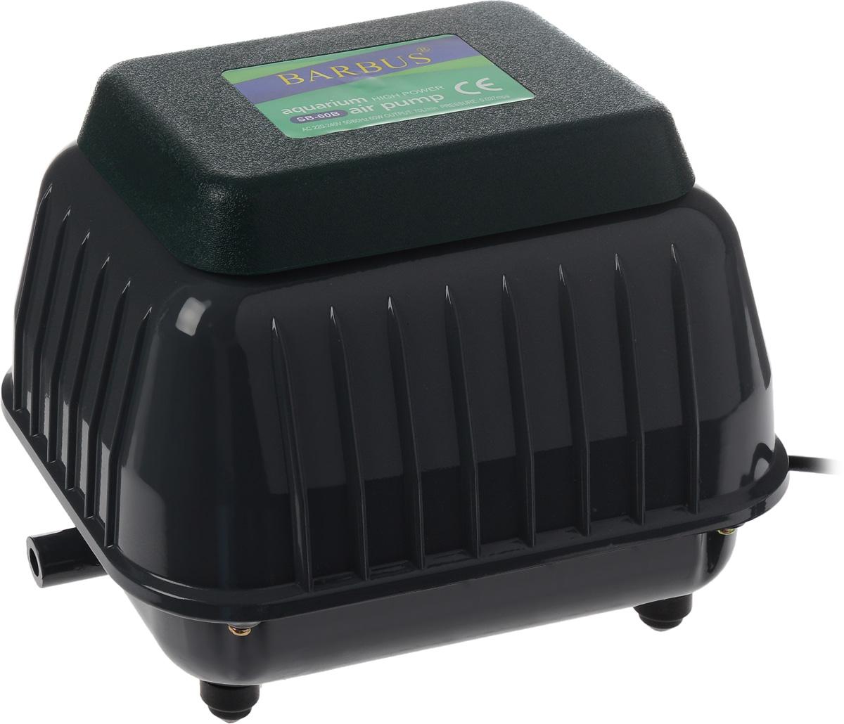 Компрессор воздушный аквариумный Barbus, 60 Вт2502Воздушный аквариумный компрессор Barbus выполнен из прочного металла и пластика. Современная резиновая мембрана и клапан гарантируют долгий срок службы. Изделие обладает уникальной структурой с хорошим тепловыделением и низким уровнем шума. Компрессор имеет широкий спектр использования в рыбной ферме, пруду, аквариуме. Снизу расположены резиновые ножки, обеспечивающие устойчивость и не царапающие поверхность.Мощность: 60 Вт.Напряжение: 220-240В.Частота: 50/60 Гц.Производительность: 70 л/мин.Количество выходов гребенки: 14.