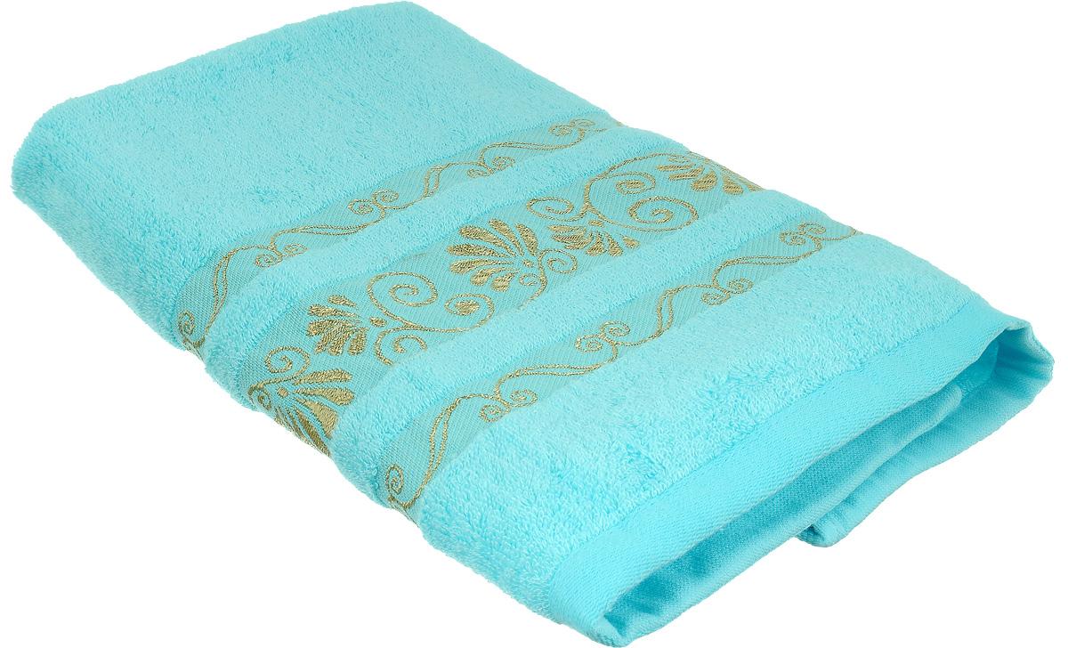 Полотенце Bonita Голубое сияние, цвет: голубой, 50 х 90 см10503Полотенце Bonita Голубое сияние изготовлено из мягкой смесовой ткани (30% хлопок и 70% бамбук). Полотенце идеально впитывает влагу и сохраняет свою необычайную мягкость даже после многих стирок. Полотенце Bonita - отличный вариант для практичной и современной хозяйки. С ними ваш дом наполнится красотой и только прекрасными эмоциями.