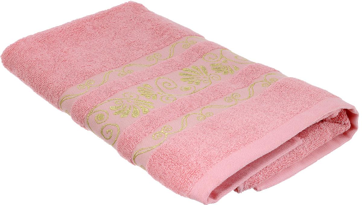 Полотенце Bonita Розовый фламинго, цвет: розовый, 50 х 90 см74-0060Полотенце Bonita Розовый фламинго изготовлено из из мягкой смесовой ткани (30% хлопок и 70% бамбук) и оформлено рисунком с узорами.Полотенце идеально впитывает влагу и сохраняет свою необычайную мягкость даже после многих стирок. Полотенце Bonita - отличный вариант для практичной и современной хозяйки. С ним ваш дом наполнится красотой и только прекрасными эмоциями.
