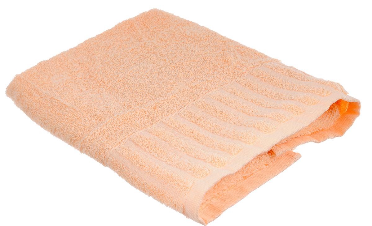 Полотенце Bonita Персик, цвет: персиковый, 50 х 90 смCLP446Полотенце Bonita Персик изготовлено из натурального хлопка и оформлено рисунком с узорами. Полотенце идеально впитывает влагу и сохраняет свою необычайную мягкость даже после многих стирок. Полотенце Bonita - отличный вариант для практичной и современной хозяйки.С ним ваш дом наполнится красотой и только прекрасными эмоциями.