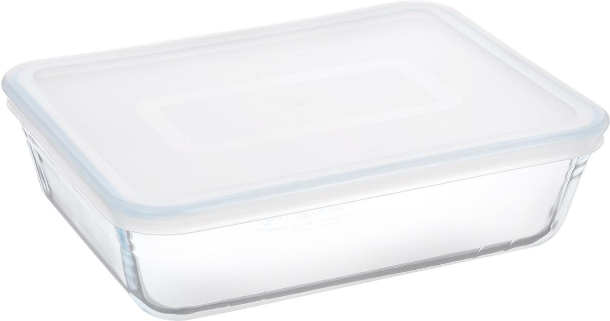 Форма для запекания Pyrex Cook & Store, с крышкой, прямоугольная, 22 х 17 см68/5/4Форма для запекания Pyrex Cook & Store изготовлена из закаленного боросиликатного стекла, что отвечает строгим европейским нормам безопасности EN 1183. Такое стекло обладает повышенной ударопрочностью, жаропрочностью (от -40°С до +300°С) и выдерживает резкий перепад температур в 220°С. Форма также устойчива к образованию пятен и царапин, не впитывает посторонние запахи. Изделие экологично, поэтому безопасно для использования. Форма прямоугольная, удобна для запекания мяса, курицы, овощей. Снабжена пластиковой, плотно закрывающейся крышкой. Подходит для духовки, микроволновой печи, можно мыть в посудомоечной машине, ставить в холодильник и морозильную камеру. Крышка не подходит для духовки.