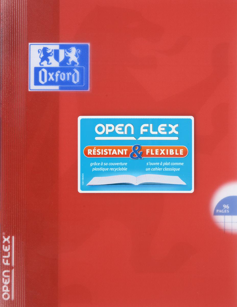Oxford Тетрадь Openflex 48 листов в клетку цвет красный96Т5B1_13896Красивая и практичная тетрадь Oxford Openflex отлично подойдет для офиса и учебы. Тетрадь формата А5 состоит из 48 белых листов с полями и четкой яркой линовкой в клетку. Обложка тетради выполнена из плотного полупрозрачного полипропилена и оформлена символом Оксфордского университета. Металлические скрепки надежно удерживают листы. Также тетрадь имеет скругленные углы и страничку для заполнения данных владельца.