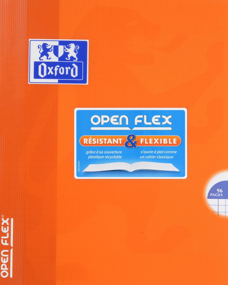 Oxford Тетрадь Openflex 48 листов в клетку цвет оранжевый48Т5В1_03991Красивая и практичная тетрадь Oxford Openflex отлично подойдет для офиса и учебы. Тетрадь формата А5 состоит из 48 белых листов с полями и четкой яркой линовкой в клетку. Обложка тетради выполнена из плотного полупрозрачного полипропилена и оформлена символом Оксфордского университета. Металлические скрепки надежно удерживают листы. Также тетрадь имеет скругленные углы и страничку для заполнения данных владельца.