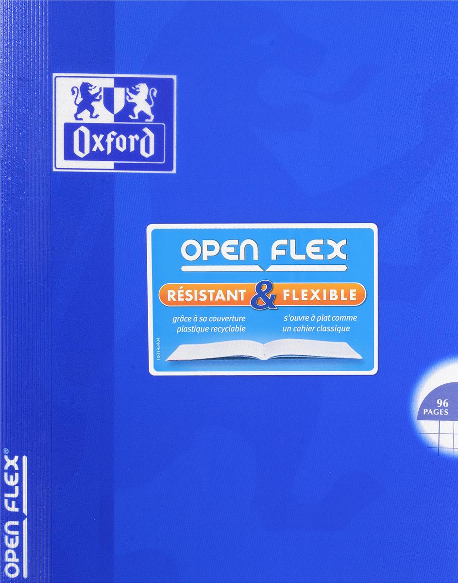 Oxford Тетрадь Openflex 48 листов в клетку цвет синий72523WDКрасивая и практичная тетрадь Oxford Openflex отлично подойдет для офиса и учебы. Тетрадь формата А5 состоит из 48 белых листов с полями и четкой яркой линовкой в клетку. Обложка тетради выполнена из плотного полупрозрачного полипропилена и оформлена символом Оксфордского университета. Металлические скрепки надежно удерживают листы. Также тетрадь имеет скругленные углы и страничку для заполнения данных владельца.