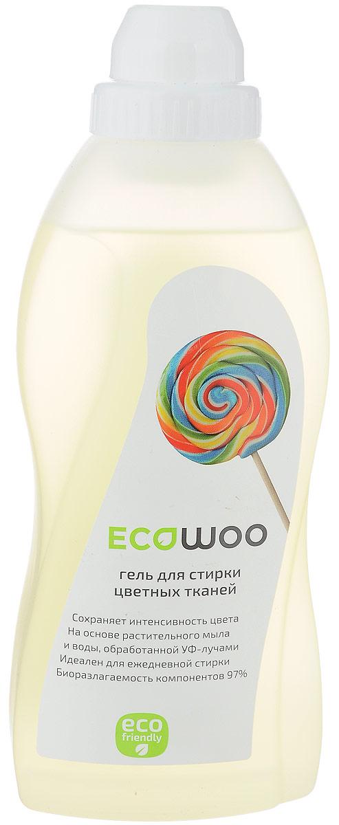 Гель для стирки цветных тканей EcoWoo, 700 мл904697Гель для стирки цветных тканей EcoWoo сохраняет интенсивность цвета. Изготовлен на основе растительного мыла и воды, обработанной УФ- лучами. Идеален для ежедневной стирки. Биоразлагаемость компонентов 97%. Мягкое средство с системой защиты цвета EcoWoo предотвращает перенос красителей и сохраняет яркость красок. Рекомендуется для стирки джинсовых тканей.Товар сертифицирован.