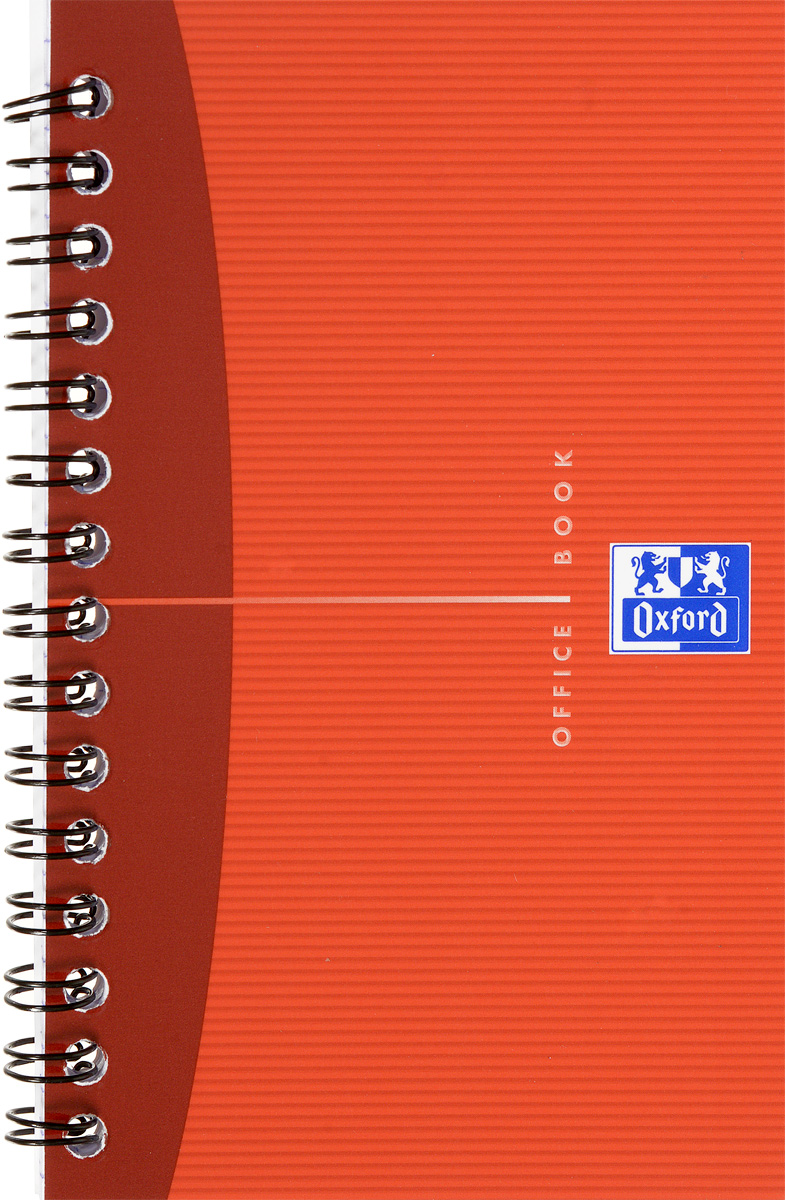 Oxford Тетрадь Essentials 50 листов в клетку цвет красный72523WDКрасивая и практичная тетрадь Oxford Essentials отлично подойдет для офиса и учебы. Тетрадь состоит из 50 белых листов с четкой яркой линовкой в клетку. Обложка тетради выполнена из плотного ламинированного картона. Удобный металлический гребень надежно удерживает листы. Также тетрадь имеет скругленные углы.