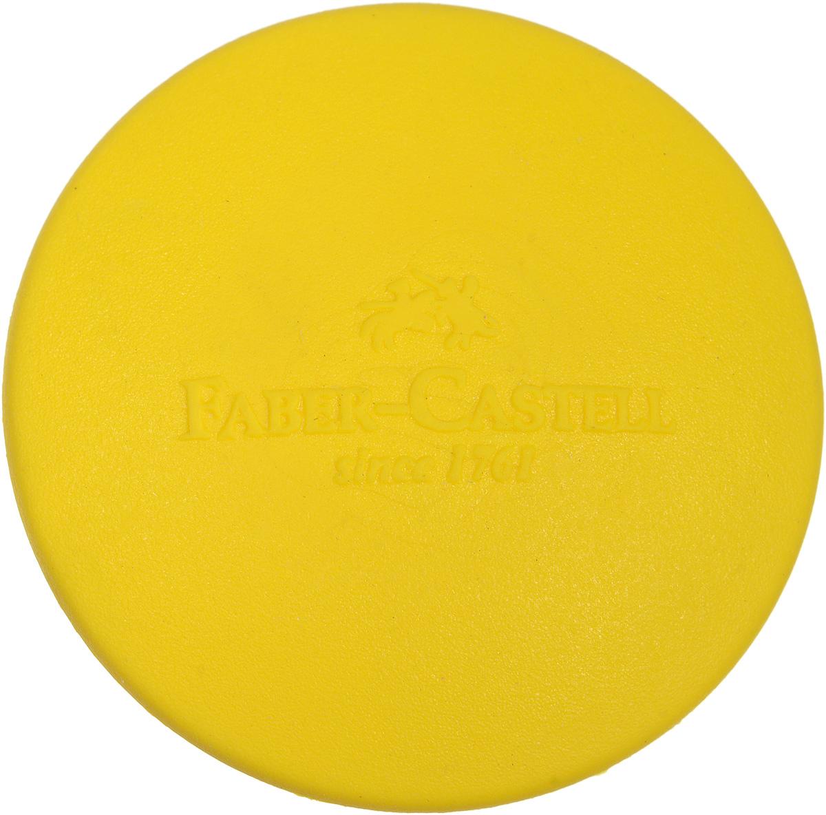 Faber-Castell Ластик круглый цвет желтый