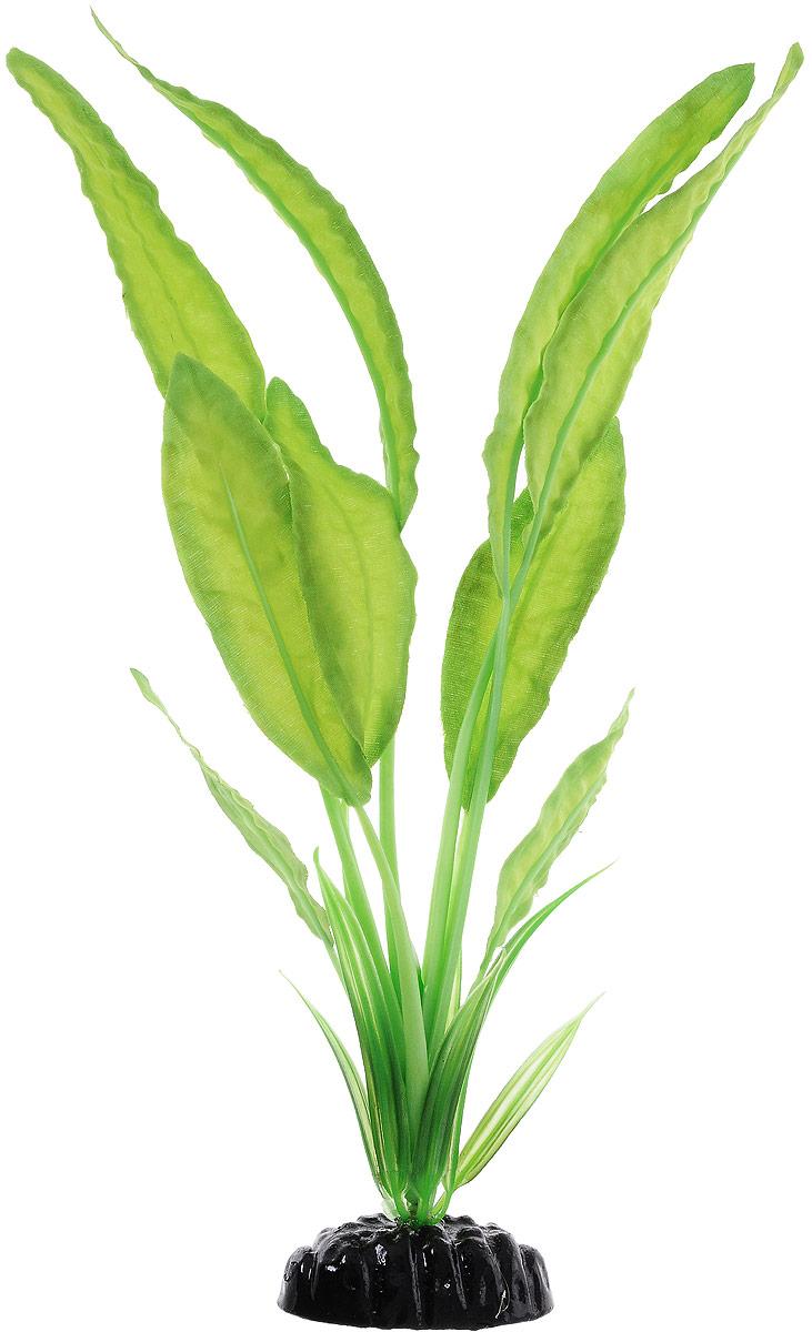 Растение для аквариума Barbus Апоногетон Натанс, шелковое, высота 30 см медоса лимонник 30 см ym 02 red green шелковое растение