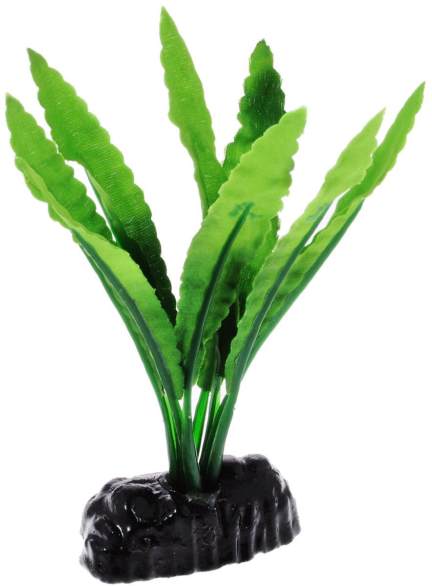 Растение для аквариума Barbus Кринум, шелковое, высота 10 см101246Растение для аквариума Barbus Кринум, выполненное из качественного шелка, станет оригинальным украшением вашего аквариума. В воде создается абсолютная имитация живого растения. Можно использовать в любой воде: пресной или морской. Изделие полностью безопасно для обитателей аквариума, не токсично, нейтрально к водному балансу, устойчиво к истиранию краски. Растение Barbus поможет вам смоделировать потрясающий пейзаж на дне вашего аквариума или террариума. Высота растения: 10 см.
