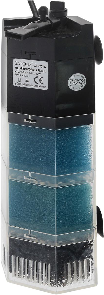 Био-фильтр секционный Barbus, 650 л/ч, 12 ВтFILTER 008Фильтр Barbus предназначен для фильтрации воды в аквариумах. Секционная конструкция даёт возможность использовать нижнюю ступень фильтра для заполнения био-наполнителями. Механическая фильтрация происходит за счет губки, которая поглощает грязь и очищает воду. Имеет регулятор силы потока с возможностью изменения его направления в радиусе 45 градусов. Подходит для пресной и соленой воды. Фильтр полностью погружной.Мощность: 12 Вт.Напряжение: 220-240В.Частота: 50/60 Гц.Производительность: 650 л/ч.Рекомендованный объем аквариума: 50-100 л. Уважаемые клиенты!Обращаем ваше внимание навозможныеизмененияв цветенекоторых деталейтовара. Поставка осуществляется в зависимости от наличия на складе.